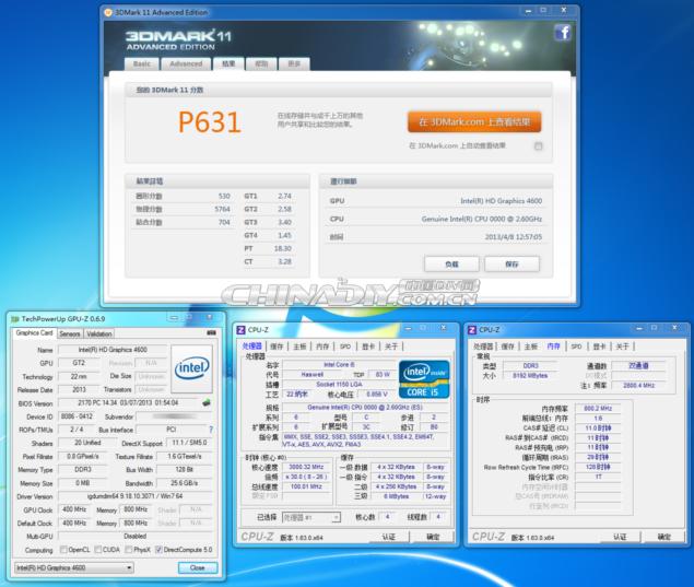 Haswell HD 4600 3DMark11_1