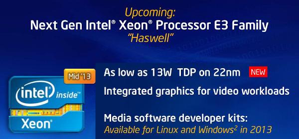 Xeon E3-1200 V3