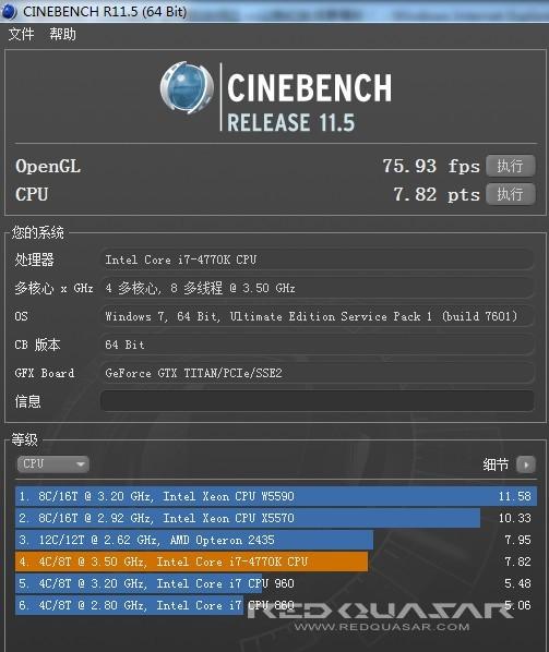 4770K CineBench
