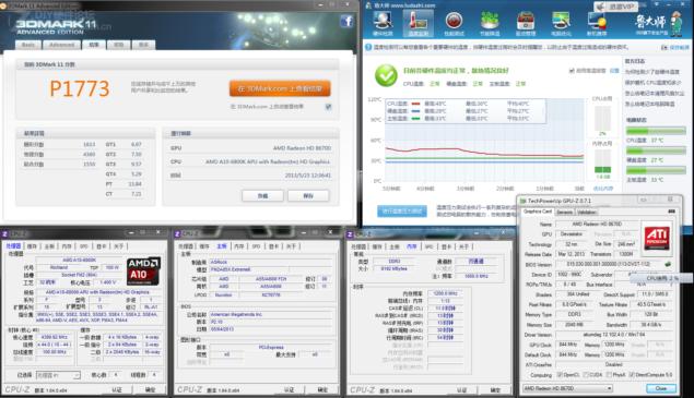 A10-6800K 3DMark11_P