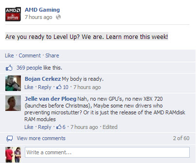 AMD Level up