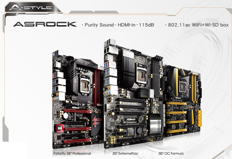 ASRock Z87 OC Formula/ac XFast USB Drivers Windows