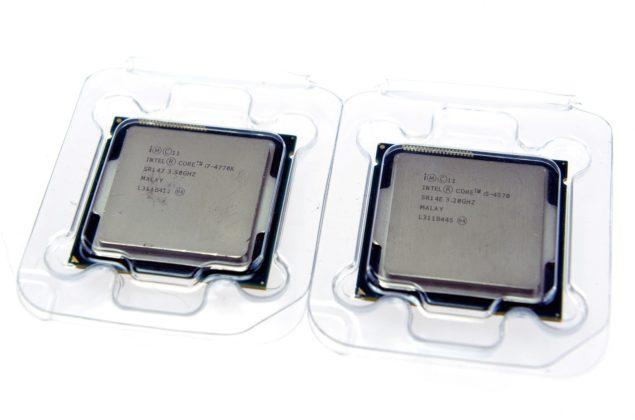 Core i7 4770K Core i7 4570K