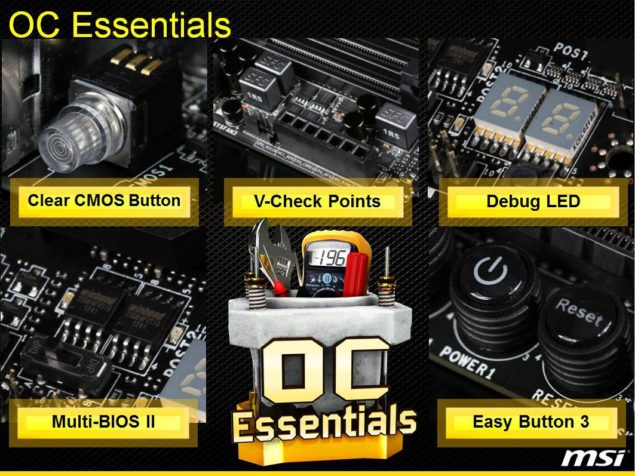 MSI OC Essentials