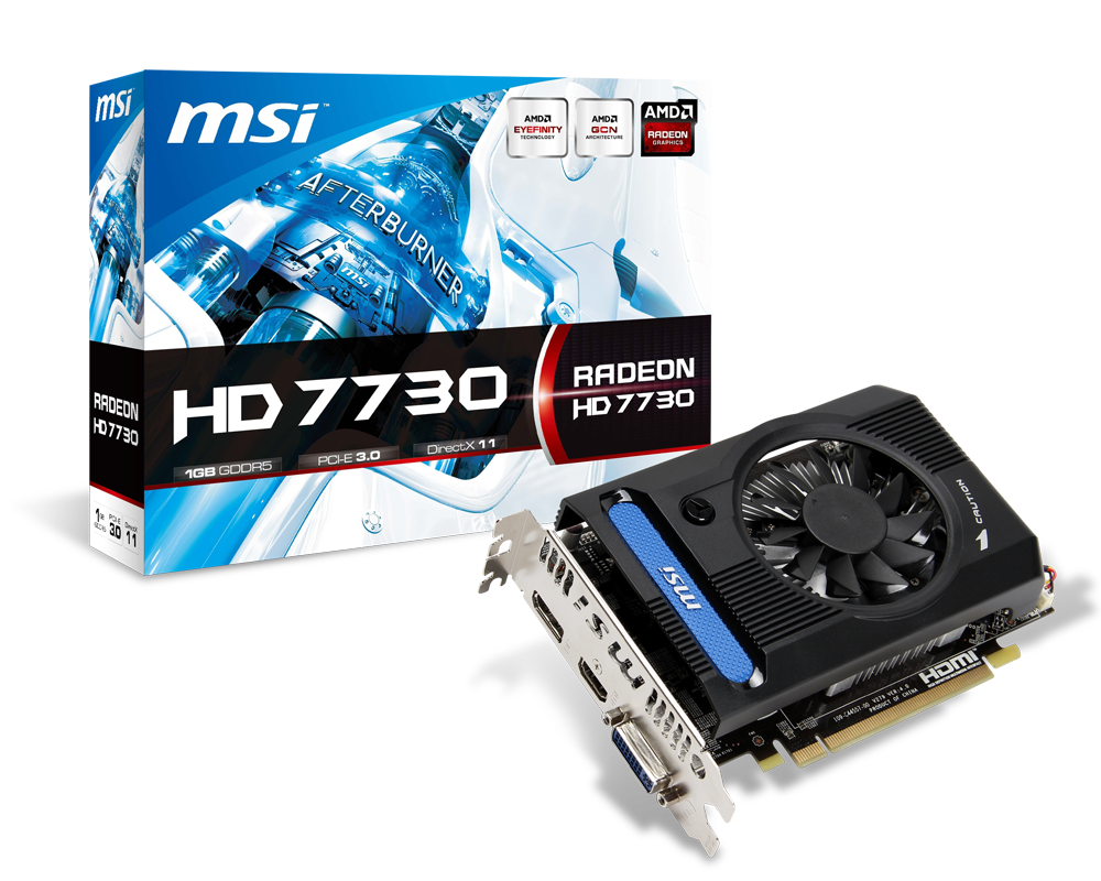 MSI Silently Launches Radeon HD 7730 Graphics Card With 1 GB Memory