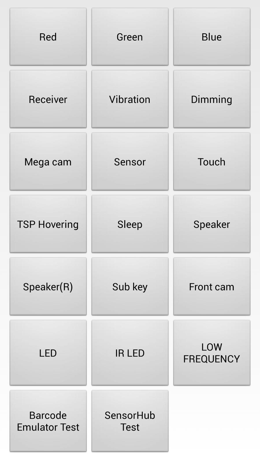 Secret Code of Samsung Galaxy S4 shv-e300s Korean