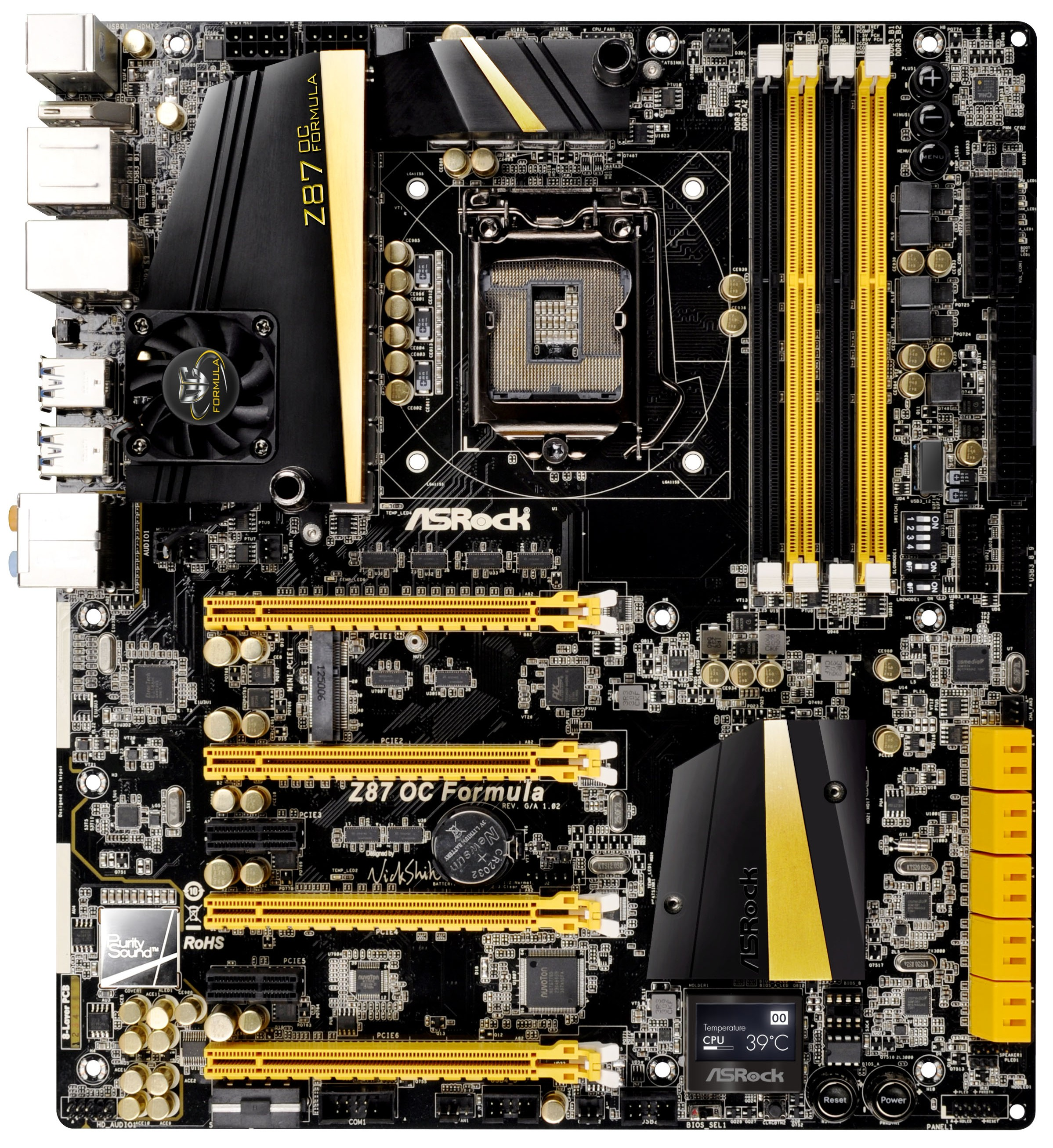 ASRock Z87 OC Formula Intel Rapid Start Drivers for Mac