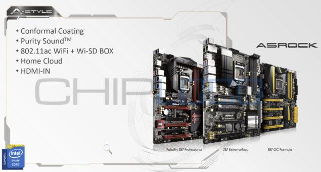 Z87 motherboards