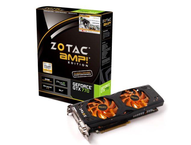 Zotac GTX 770 AMP