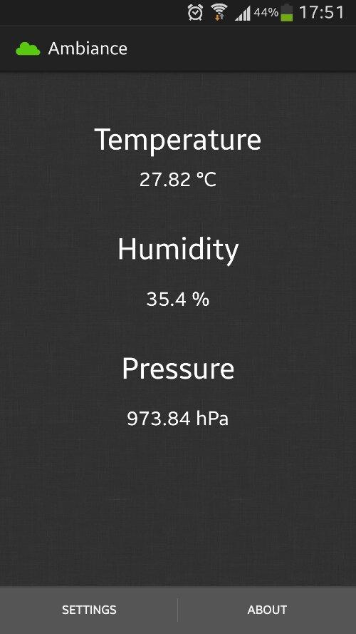 Ambiance App - Galaxy S4