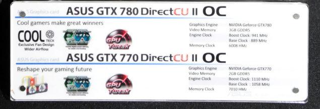 GTX 780 DirectCU II Specs