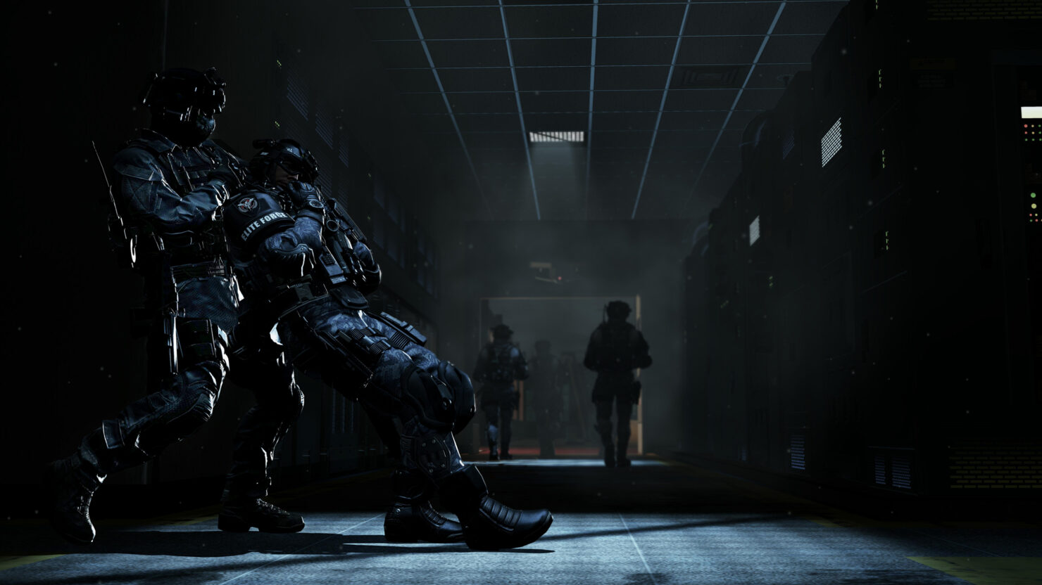 Call of Duty Ghosts Into the Deep and No Man