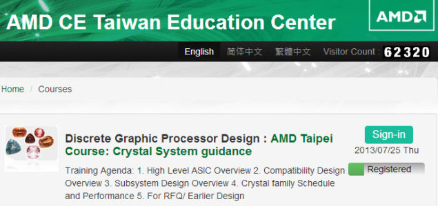 AMD Crystal Series HD 9000M