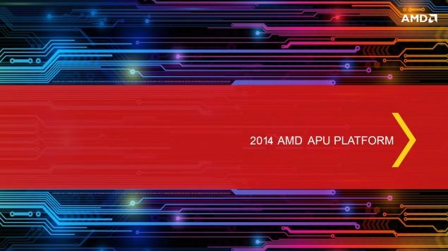 AMD Jaguar 2014 Platform