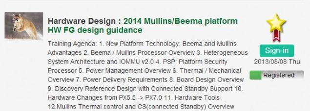 AMD Jaguar Mullins Beema