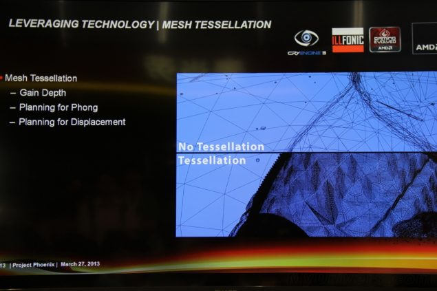 AMD Ruby Mesh Tessellation