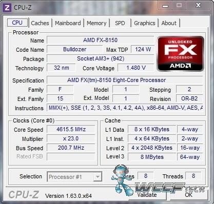 FX-8150 OC