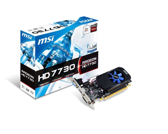 MSI HD 7730 Low Profile