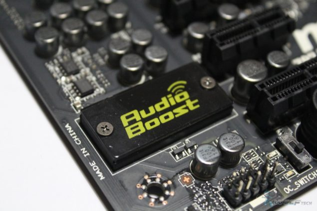 Z87 MPOWER MAX Audio Boost Chip (Custom)
