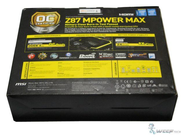 Z87 MPOWER MAX Box Back (Custom)