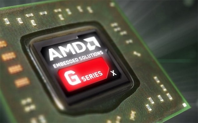 AMD G Series GX-210JA APU