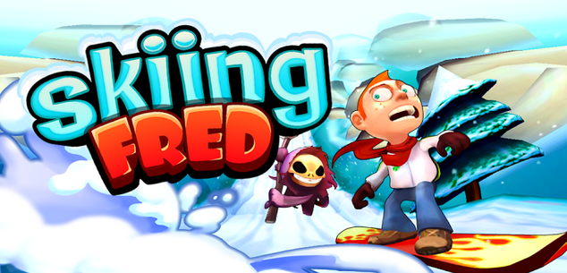 skiing fred ios game