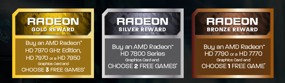 AMD Launches Never Settle Forever Promotion - Wants You To Choose