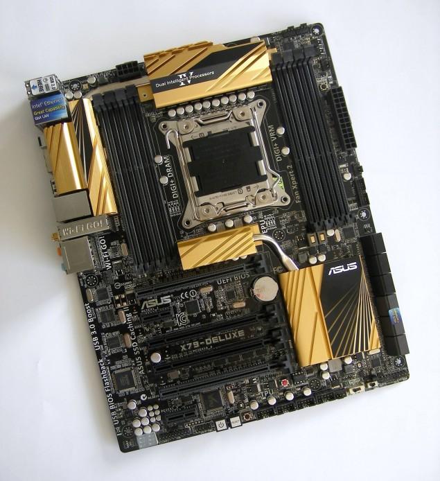 ASUS X79 Deluxe Motherboard