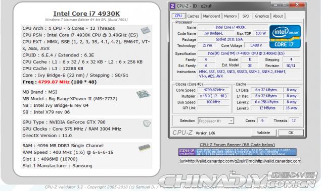 Core i7-4930K LN2