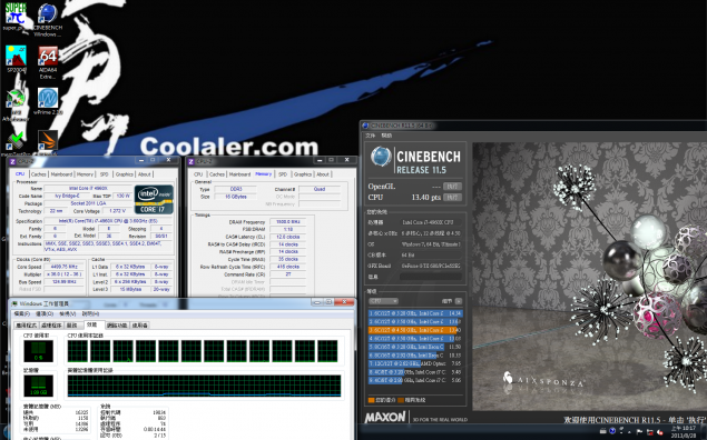 Core i7-4960X Cinebench R11.5