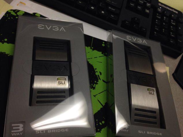 EVGA SLI Bridge Packaging