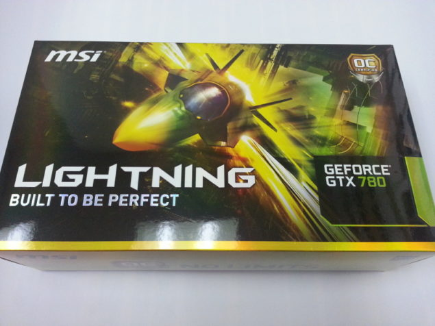 MSI GTX 780 Lightning Package