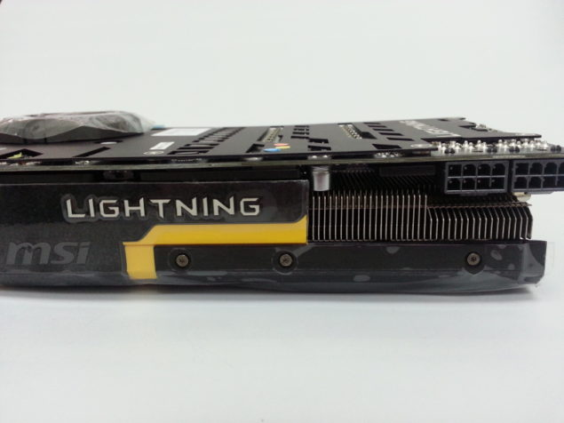 MSI GTX 780 Lightning Side