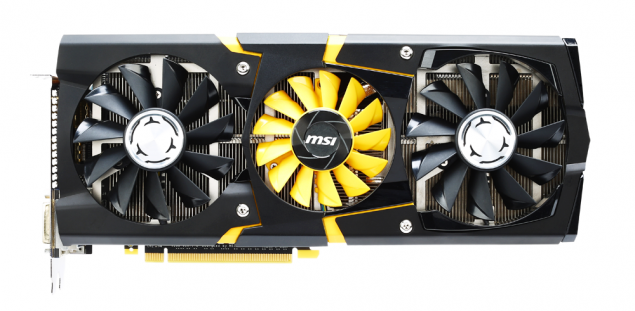 MSI GeForce GTX 780 Lighting Side
