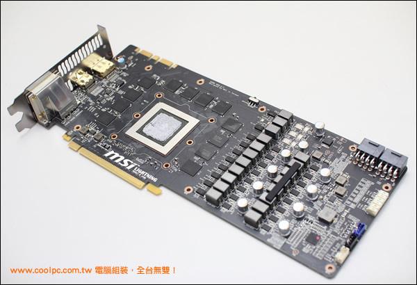 MSI GeForce GTX 780 Lightning_PCB Overview