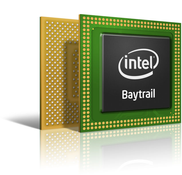 Intel Bay trail-t SoC