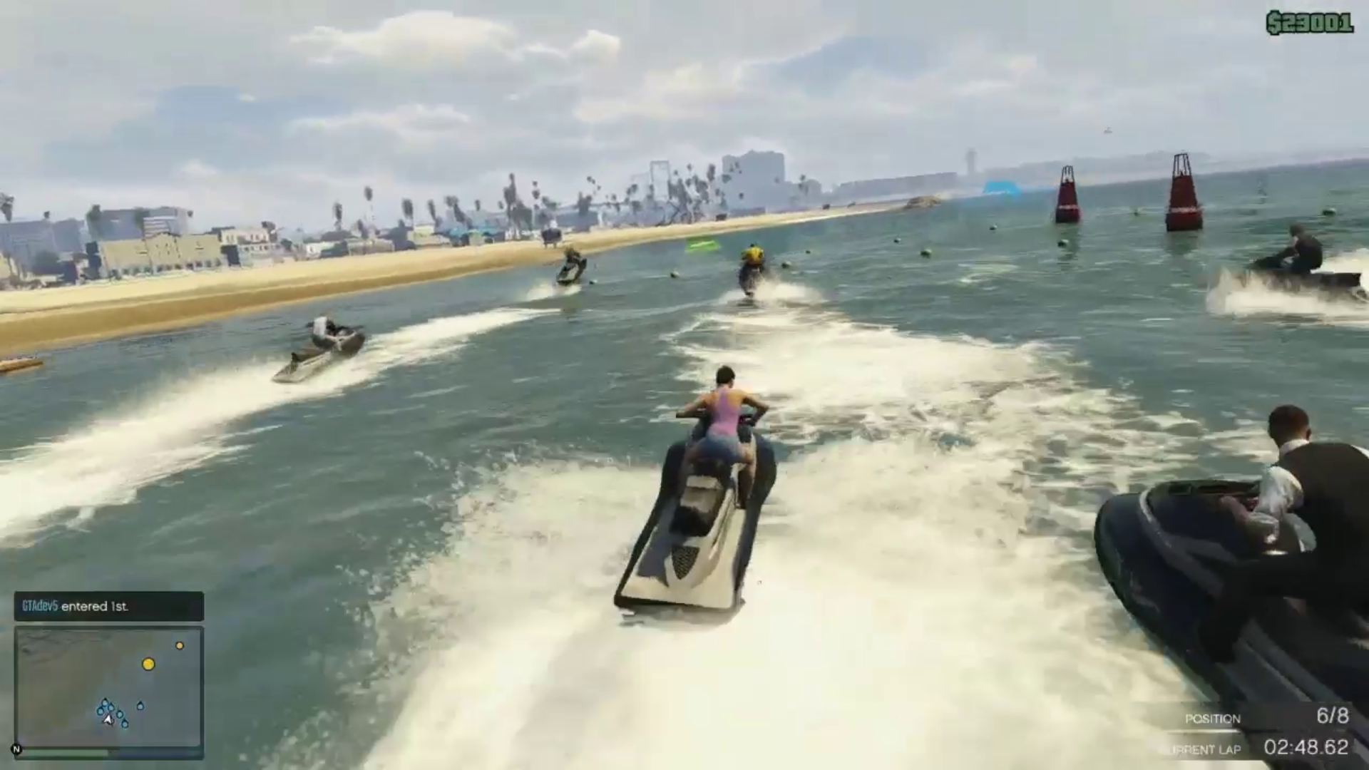 GTA V Gameplay Videos, Pictures, Map Leaked - Shows Airplane