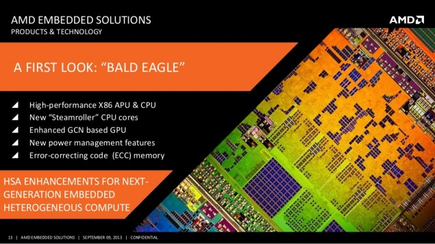 AMD Bald Eagle APU CPU