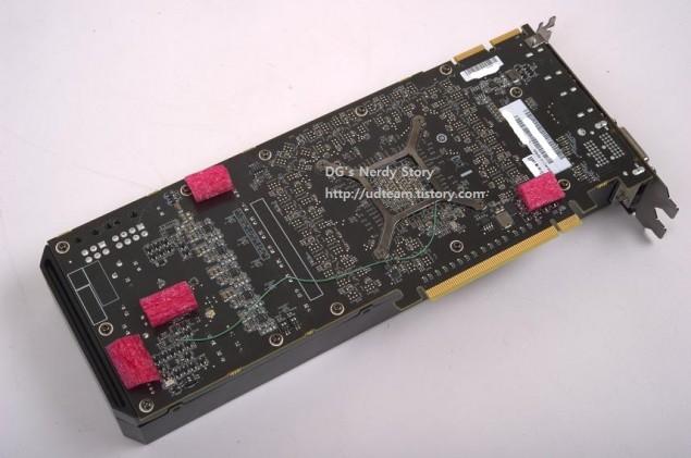AMD Hawaii R9-290X Back