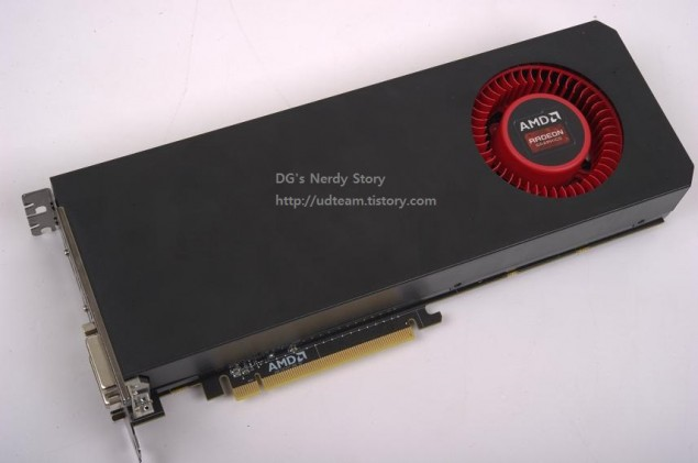 AMD Hawaii R9-290X Front
