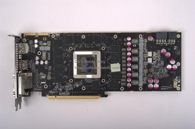 AMD Hawaii R9-290X PCB