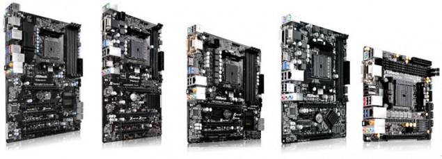 ASRock A88X Chipset FM2+ motherboards