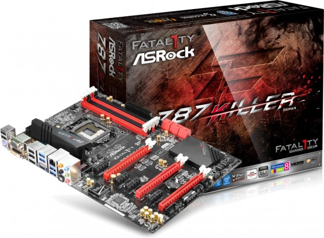 ASRock Fatal1ty Z87 Killer Motherboard