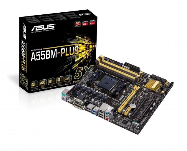 ASUS A55BM-Plus FM2+