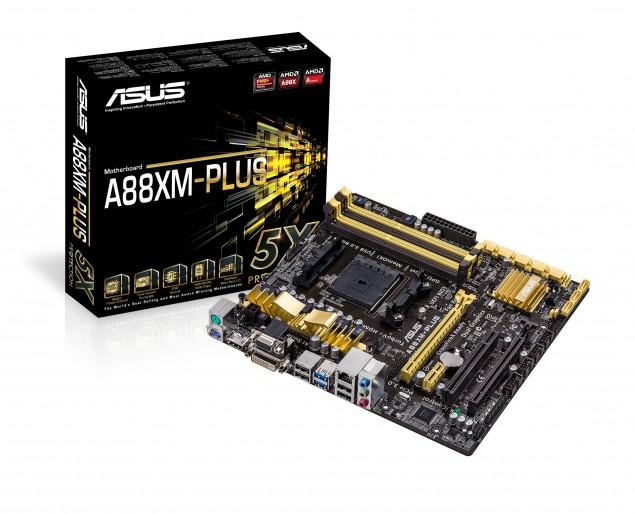 ASUS A88XM-Plus FM2+