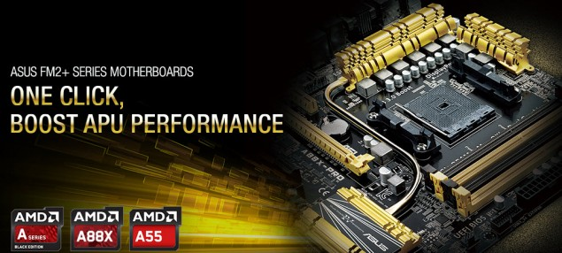 ASUS A88X Chipset FM2+ Motherboard Lineup