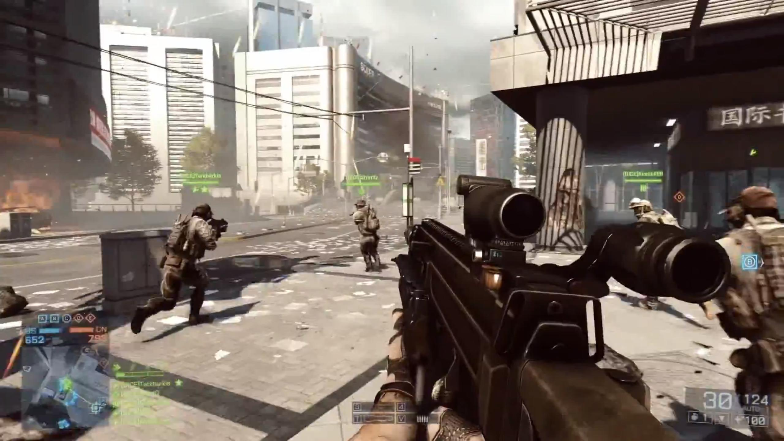 Multiplayer Games For Ps4 : Battlefield multiplayer trailer shows new maps intense