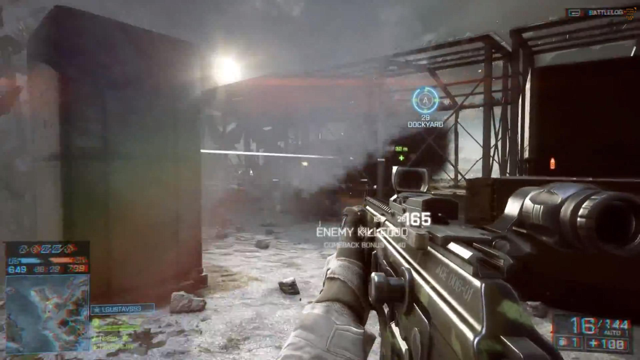 Battlefield 4 Multiplayer Trailer Shows New Maps, Intense ...