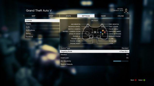 GTA V Controller Settings