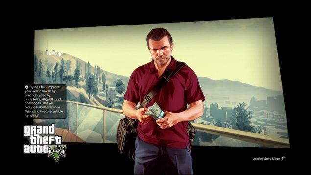 GTA V Loading Screen